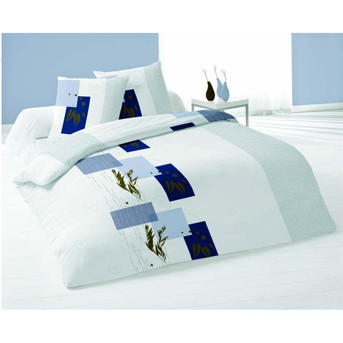 pure parure de couette 220x240 cm achat vente parure de couette cdiscount. Black Bedroom Furniture Sets. Home Design Ideas