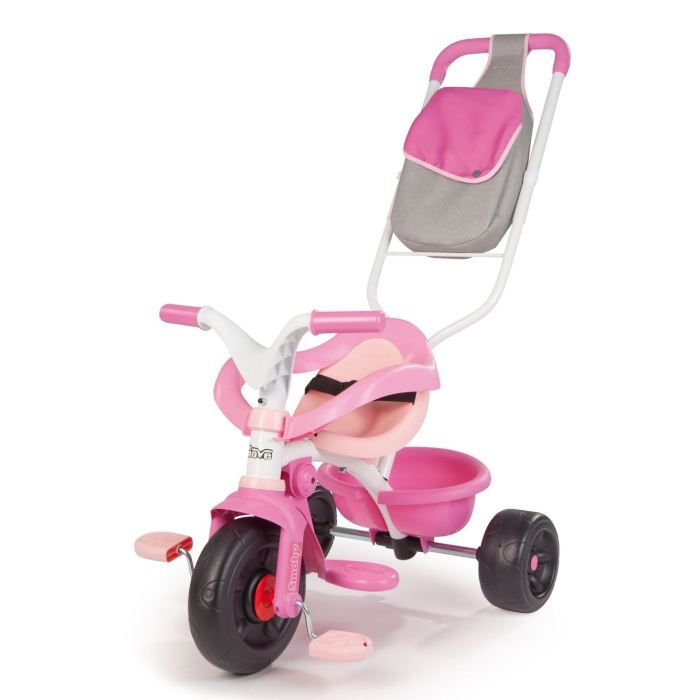 smoby tricycle be move confort fille achat vente. Black Bedroom Furniture Sets. Home Design Ideas