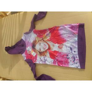 ROBE ROBE PULL VIOLETTA TAILLE 8 ANS VIOLETTE