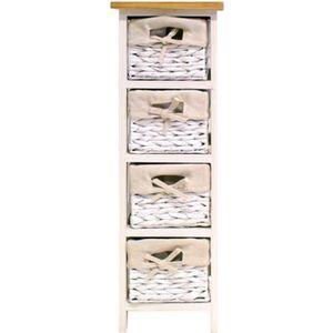 MEUBLE BAS COMMODE SDB VENEZIA Petit meuble de rangement de salle de bain