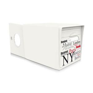 boite aux lettres 2 portes achat vente boite aux lettres 2 portes pas cher cdiscount. Black Bedroom Furniture Sets. Home Design Ideas