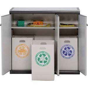 Armoire basse en plastique 3 portes 3 bacs de achat vente meuble tag re armoire basse en - Armoire basse plastique exterieur ...