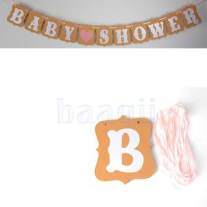banniere baby shower achat vente banniere baby shower pas cher cdiscount. Black Bedroom Furniture Sets. Home Design Ideas
