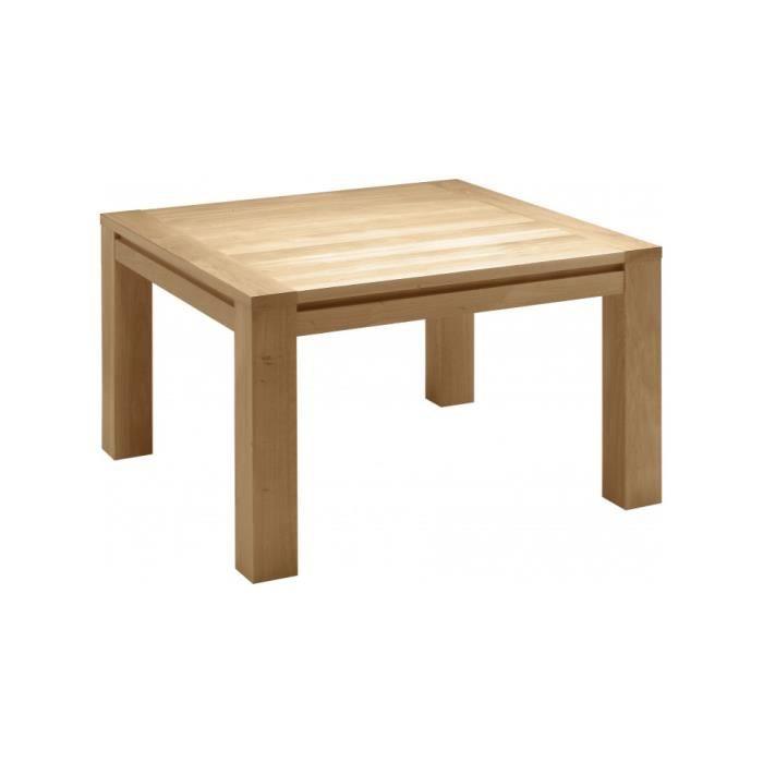 Table de repas carr e ch ne l130 achat vente table a - Table repas carree ...