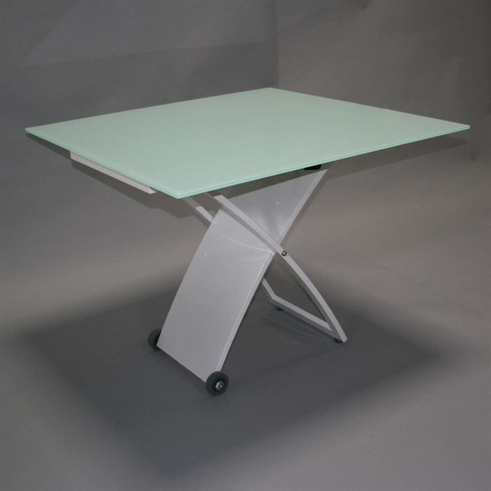 Object moved - Table en verre carre ...