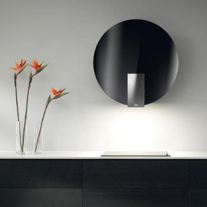 hotte cuisine elica murale space eds noir 78 cm achat vente hotte soldes cdiscount. Black Bedroom Furniture Sets. Home Design Ideas