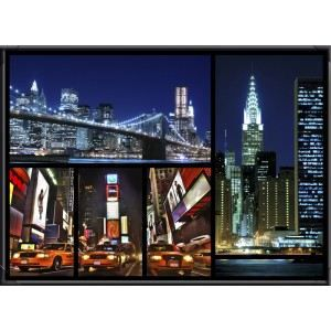Tableau led new york c3 achat vente tableau toile cdiscount - Tableau led new york ...