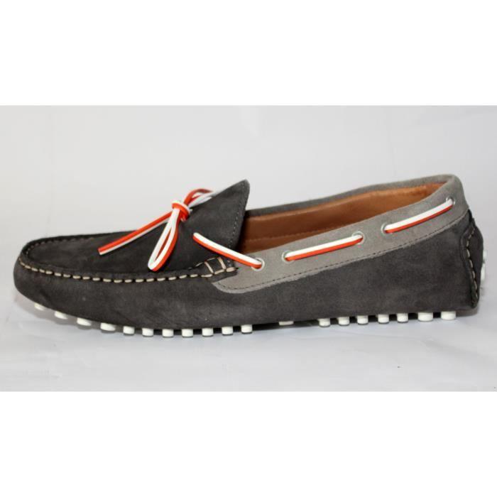 c673e74d0850b8 bateau zara man chaussures homme cuir gris t 40 n zara chaussures homme  soldes