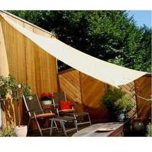 VOILE D'OMBRAGE Voile d ombrage carree ajouree 3.60 x 3.60 m