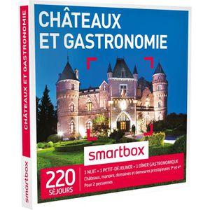 COFFRET GASTROMONIE Coffret Cadeau Châteaux et gastronomie - 180 séjou