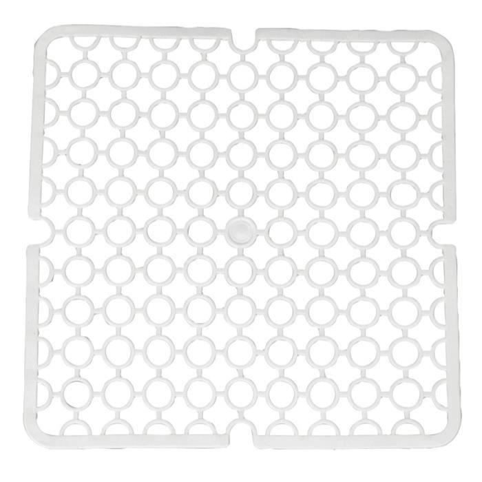 tapis d 39 evier plastique blanc achat vente tapis d. Black Bedroom Furniture Sets. Home Design Ideas