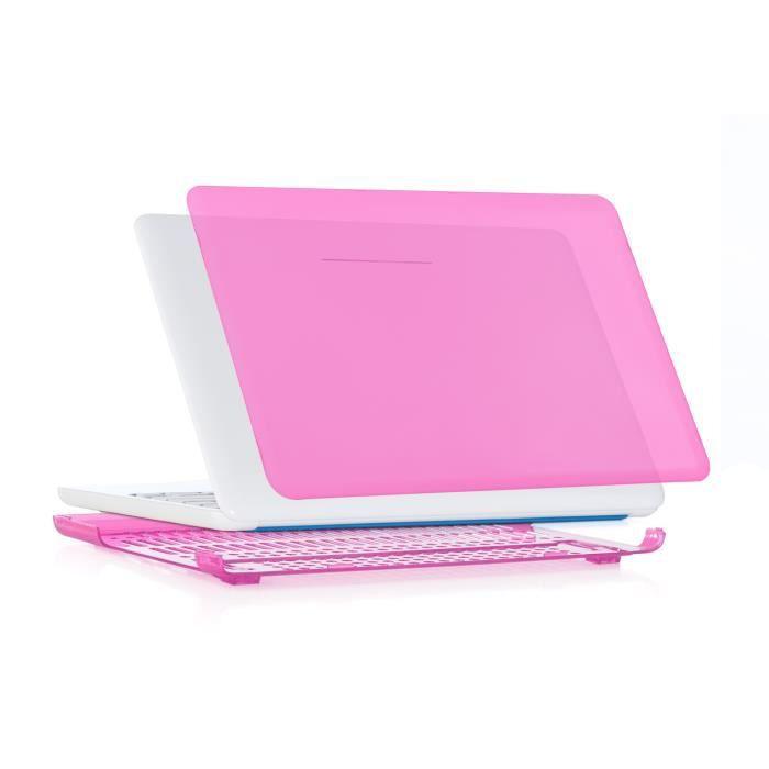 """Coque pour NEW HP ChromeBook 14"""" Rose Prix pas cher"""