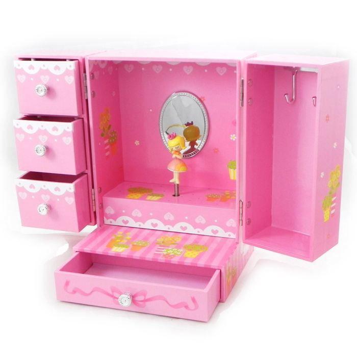 coffret bijoux jolie princesse musical achat vente boite a bijoux coffret bijoux. Black Bedroom Furniture Sets. Home Design Ideas