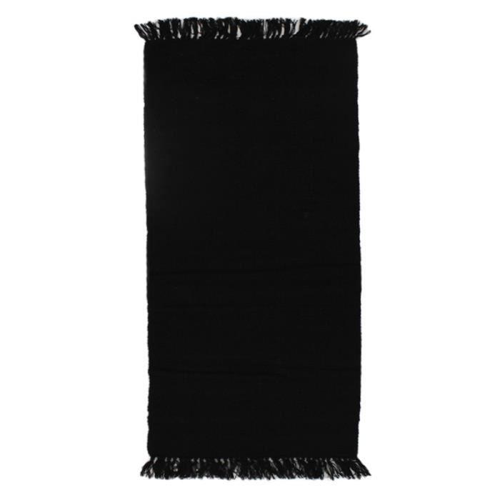 tapis simply coton 60 x 120 noir achat vente tapis cdiscount
