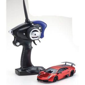 KYOSHO MINIZ Mr03 Sports Lamborghini Lp670-4 Sv Red Chrome - Voiture télécommandée