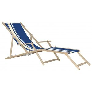 Flaneuse chaise longue sweety bayadere achat vente chaise longue transat chaise longue - Chaise longue en bois et toile ...