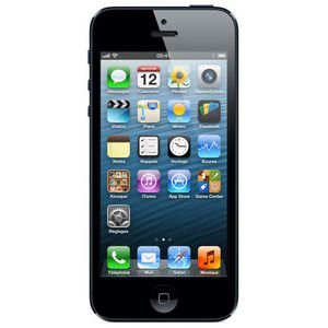 SMARTPHONE APPLE IPHONE 5 16GO NOIR - TOUT OPÉRATEUR