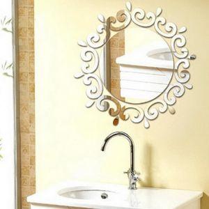 Miroir salon achat vente miroir salon pas cher cdiscount - Decoration murale miroir ...