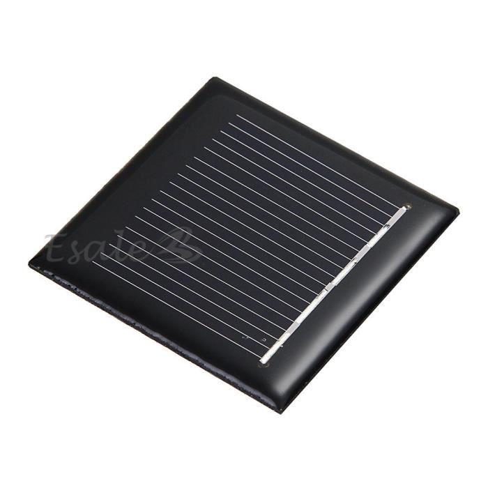 2v 120ma panneau solaire batterie chargeur pour. Black Bedroom Furniture Sets. Home Design Ideas