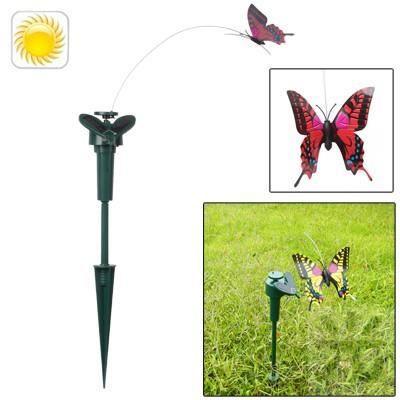 D coration papillon solaire pour jardin achat vente for Achat decoration jardin