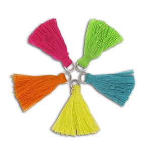 D.I.Y with Toga Lot de 5 pompons bollywood - 1,5cm