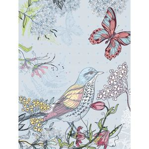 papier peint oiseaux achat vente papier peint oiseaux pas cher cdiscount. Black Bedroom Furniture Sets. Home Design Ideas
