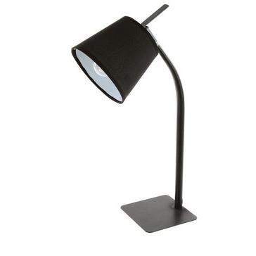 Lampe de bureau m tal noir achat vente lampe de bureau - Bureau metal noir ...