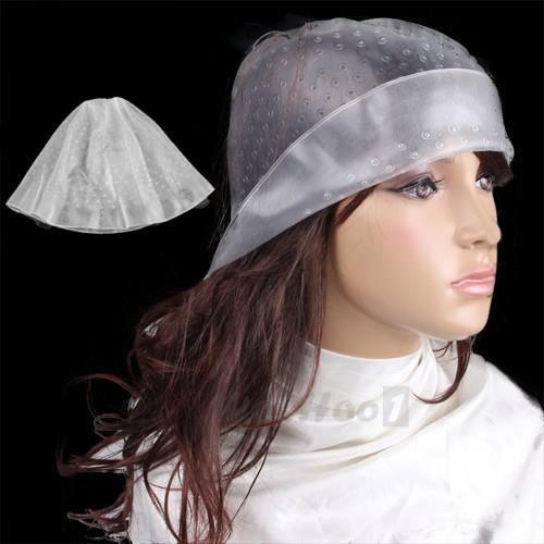 bonnet a m ches en caoutchouc transparent crochet pour cheveux achat vente coloration. Black Bedroom Furniture Sets. Home Design Ideas