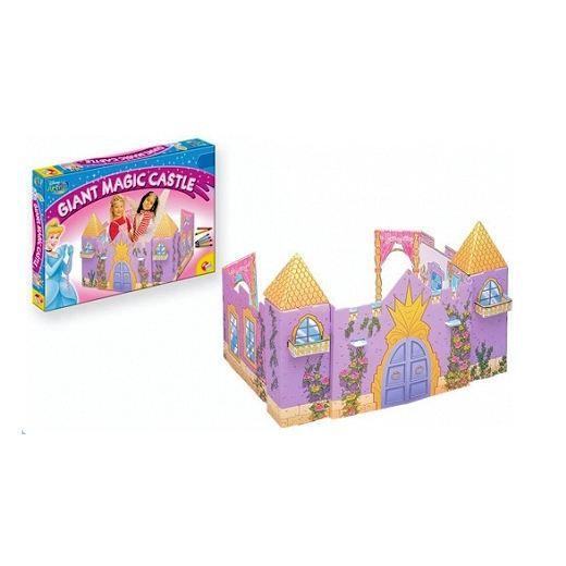 ch teau de princesse en carton disney achat vente maison poupee ch teau de princesse en. Black Bedroom Furniture Sets. Home Design Ideas