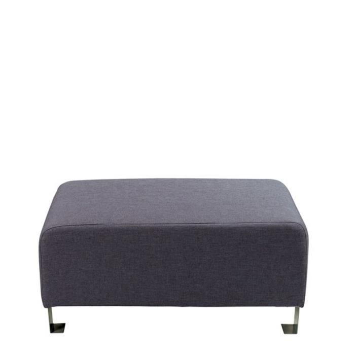 ce pouf de forme rectangulaire associe confort et. Black Bedroom Furniture Sets. Home Design Ideas