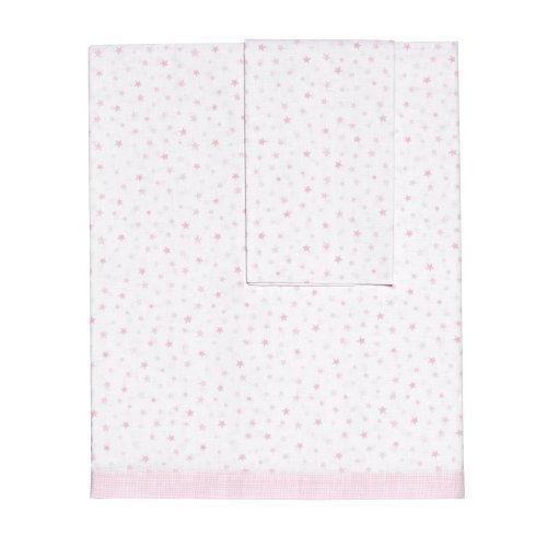 petit praia parure de couffin drap housse taie d 39 oreiller baby rosa achat vente drap housse. Black Bedroom Furniture Sets. Home Design Ideas