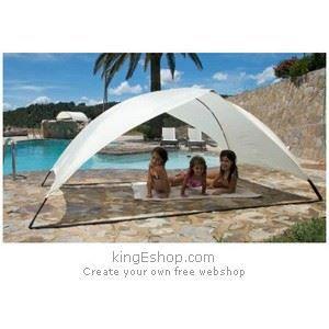 abri de plage easy duo rouge ce achat vente tente abri de plage abri de plage easy duo. Black Bedroom Furniture Sets. Home Design Ideas