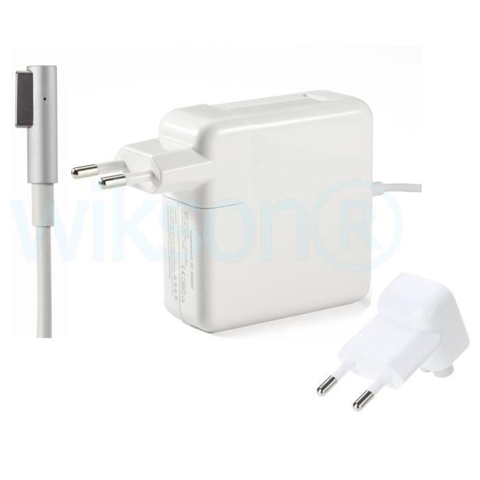 informatique ordinateurs pc portables w chargeur secteur pour apple macbook pro  f wik