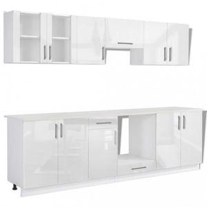 Meuble de cuisine blanc achat vente meuble de cuisine for Meuble 80x30