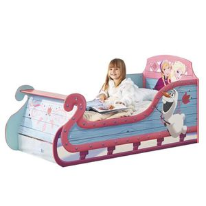 lit princesse 90x190 achat vente jeux et jouets pas chers. Black Bedroom Furniture Sets. Home Design Ideas