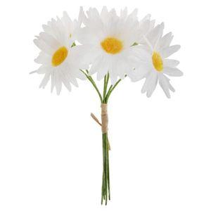 bouquet fleurs artificielles blanches achat vente bouquet fleurs artificielles blanches pas. Black Bedroom Furniture Sets. Home Design Ideas