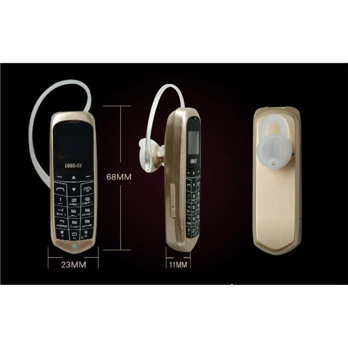 long cz j8 mini t l phone avec fonction mains libr achat t l phone portable pas cher avis et. Black Bedroom Furniture Sets. Home Design Ideas