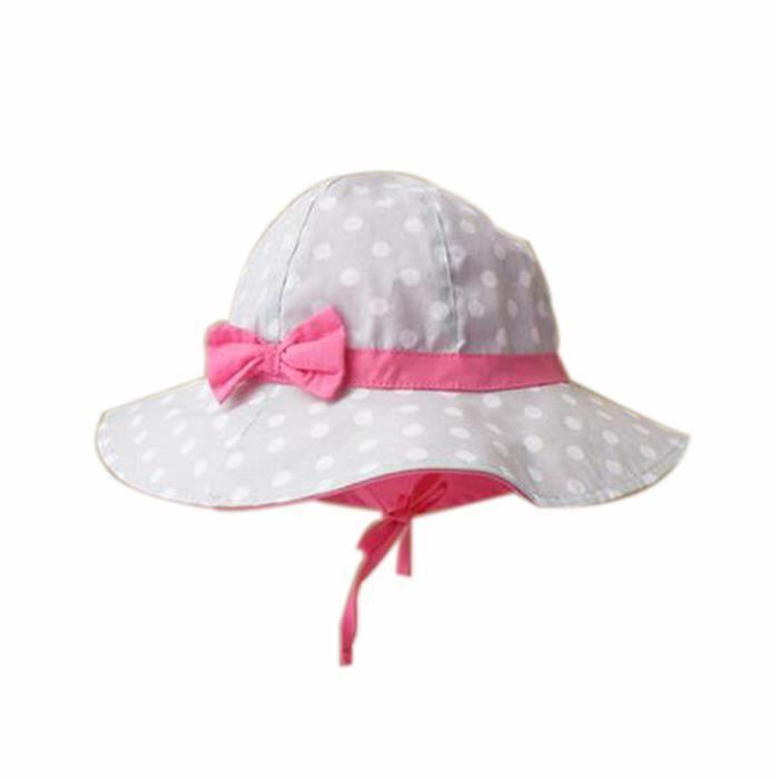 t b b fille casquettes coton chapeau de soleil pour 2 3 ans gris achat vente casquette. Black Bedroom Furniture Sets. Home Design Ideas