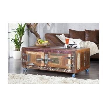 Table basse en bois marica achat vente table basse - Salon de sejour en bois ...