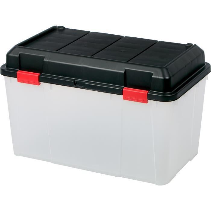 boite de rangement transparent boite outils caisse outils boite de rangement clips. Black Bedroom Furniture Sets. Home Design Ideas
