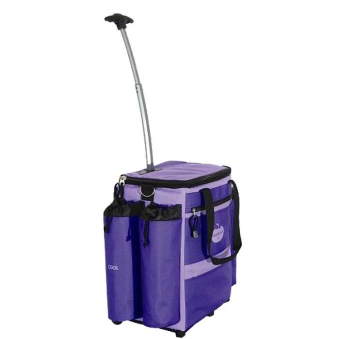 mastrad chariot de courses sac dos isotherme u violet achat vente chariot de march. Black Bedroom Furniture Sets. Home Design Ideas