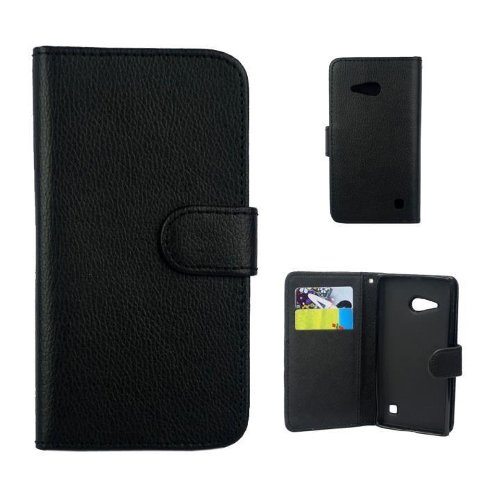 Etui housse coque pu nokia lumia 730 portefeill achat for Housse nokia 6