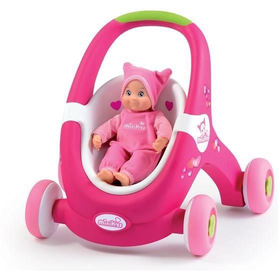 minikiss trotteur et 1 re poussette baby walker achat. Black Bedroom Furniture Sets. Home Design Ideas