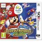 JEU 3DS Mario & Sonic aux JO de Rio 2016 Jeu 3DS