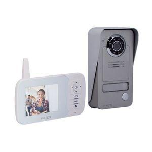 CHACON Visiophone 34817 sans fil digital 2,4 GHz avec écran LCD 3,5\