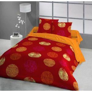 parure de lit 200x200 achat vente parure de lit 200x200 pas cher cdiscount. Black Bedroom Furniture Sets. Home Design Ideas