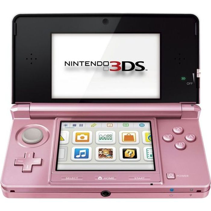 nintendo 3ds rose corail images