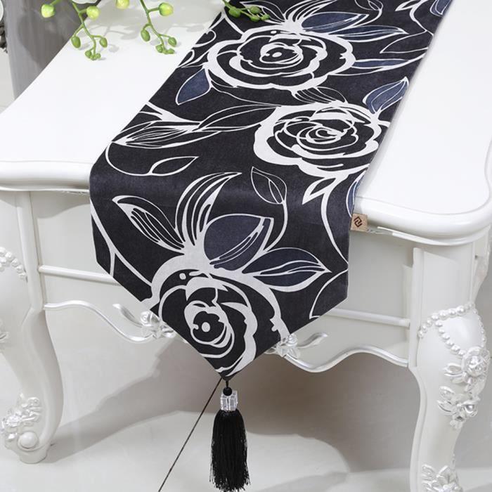 Chemin de table rose linge de table nappe soie qualit art for Chemin de table moderne