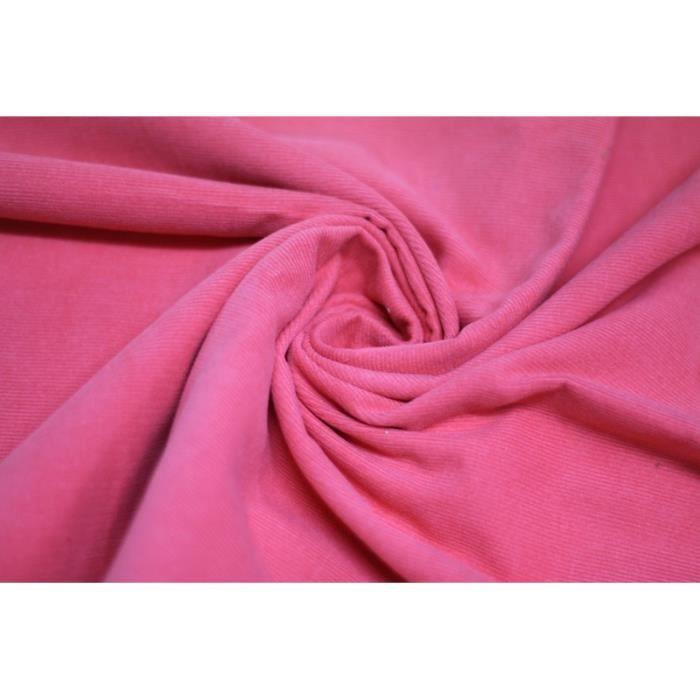 tissu velours c tel corail 100 coton au m tre achat vente tissu tissu velours c tel. Black Bedroom Furniture Sets. Home Design Ideas