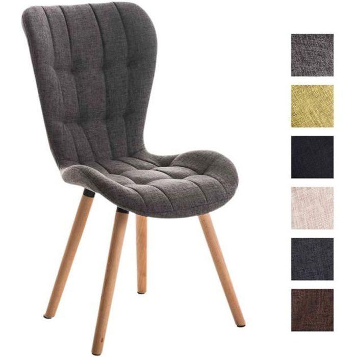 Clp chaise salle manger de salon elda dossier haut pi tement en bois - Chaise haut dossier salle a manger ...